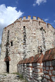 Часть башни крепости Yedikule Стоковое Изображение