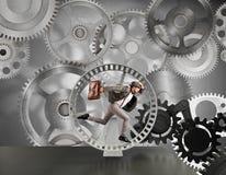 Часть бизнес-системы Стоковое Изображение RF