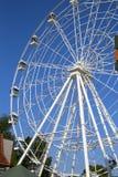 Часть большого колеса с кабинами в парке Kirova Стоковая Фотография
