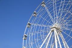 Часть большого колеса с кабинами в парке Kirova Стоковые Фотографии RF