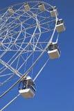 Часть большого колеса с кабинами в парке Kirova Стоковые Изображения