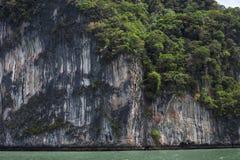 Часть большого скалистого острова стоковые фото