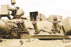 Часть бочонка танка Стоковые Фотографии RF