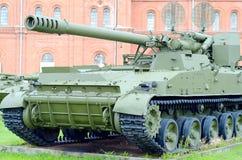 Часть бочонка танка Стоковая Фотография