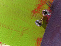 Часть большого красочного граффити улицы Стоковое Фото