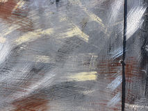 Часть большого красочного граффити улицы Стоковые Изображения RF