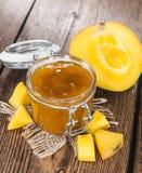 Часть варенья манго стоковое фото rf