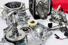Часть двигателя запасная Стоковые Изображения RF