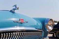Часть винтажного ретро автомобиля на Стоковая Фотография