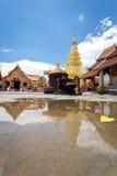 Часть виска Wat Phra то Haripunchai в Lamphun Стоковое Изображение
