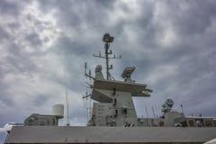 Часть воинского военного корабля Стоковое Изображение