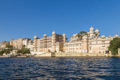 Часть дворца города Udaipur Стоковые Изображения