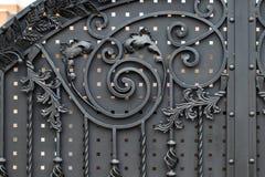 Часть выкованных металлических продуктов Конец-вверх Стоковые Изображения