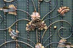 Часть выкованных металлических продуктов Конец-вверх Стоковая Фотография RF