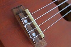 Часть гавайской гитары Стоковое Изображение