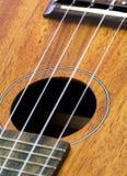 Часть гитары гавайской гитары Стоковая Фотография