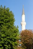 Часть голубой мечети в Стамбуле Стоковое Изображение