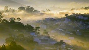 Часть города Dalat Стоковые Фотографии RF