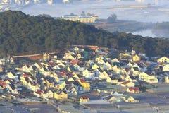 Часть города Dalat Стоковое фото RF