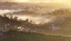 Часть города Dalat Стоковая Фотография RF
