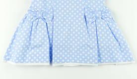 Часть голубого платья Стоковые Изображения