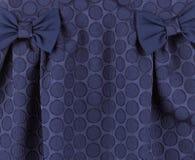 Часть голубого платья Стоковое фото RF