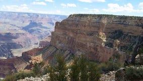 Часть гранд-каньонов Стоковая Фотография