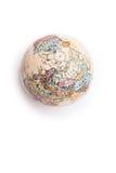 Часть глобуса земли Стоковая Фотография RF