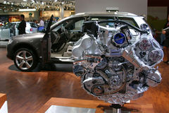 часть двигателя автомобиля Стоковые Фото
