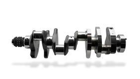 часть двигателя кривошина Стоковая Фотография RF