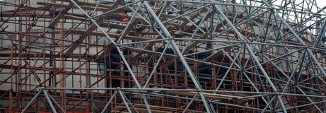 часть дома конструкции вниз Стоковое Изображение RF