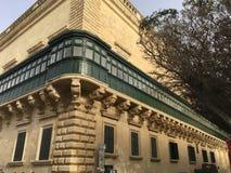Часть европейской среднеземноморской великобританской архитектуры стоковое фото rf