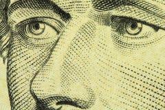 Часть деноминации 10 долларов США Стоковое Фото