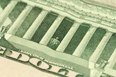 Часть деноминации 10 долларов Стоковое Изображение
