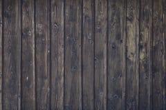 Часть деревянной стены, детали текстурировала предпосылку Стоковая Фотография RF