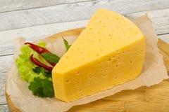 Часть желтого сыра стоковое фото rf