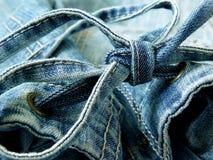 Часть джинсовой ткани Стоковые Изображения