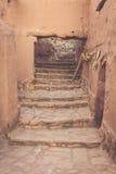 Часть замка Ait Benhaddou, укрепленного города, forme Стоковое Изображение RF