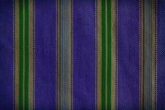 Часть зеленоголубых striped текстуры или предпосылки рубашки стоковое фото
