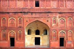 Часть здания с дверью в Индии стоковые фотографии rf
