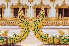 Часть искусства, тайский висок Стоковая Фотография RF