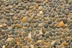 Часть каменной стены, для предпосылки или текстуры Стоковая Фотография RF
