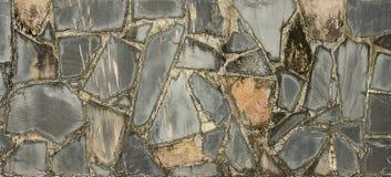 Часть каменной стены, для предпосылки Стоковая Фотография RF