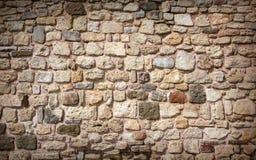 Часть каменной стены, стоковая фотография rf