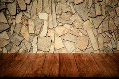 Часть каменных стены или загородки текстуры Справочная информация Взгляд от d Стоковая Фотография