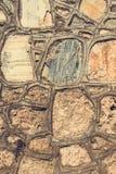 Часть каменных стены или загородки текстуры для естественного bac материала Стоковые Изображения RF
