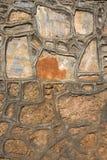 Часть каменных стены или загородки текстуры для естественного bac материала Стоковая Фотография RF