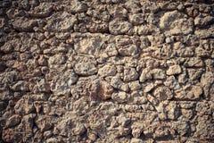 Часть каменных стены или загородки текстуры для естественной предпосылки Стоковая Фотография RF