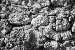 Часть каменных стены или загородки текстуры для естественной предпосылки Стоковое Изображение RF