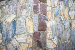 Часть каменных стены или загородки текстуры для естественной предпосылки Стоковая Фотография